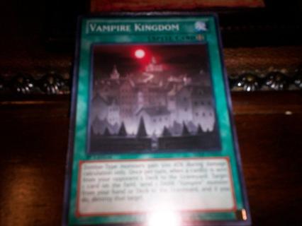 new yu-gi-oh vampire kingdom spell card