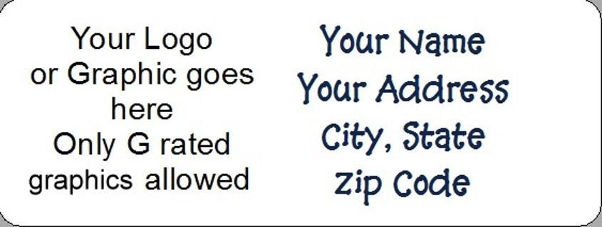 Address labels 2 sheets