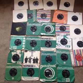 The Beatles 45s