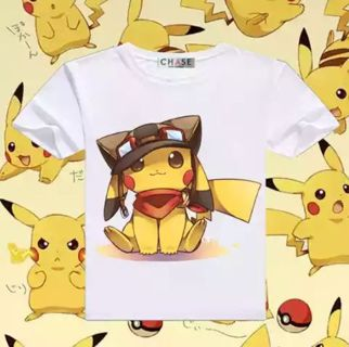 2e05aab6b Free: Kawaii anime manga Pokemon Pikachu T shirt - Women's Tops ...