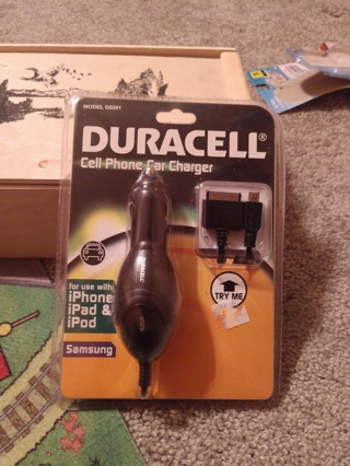 Duracell Car Charger