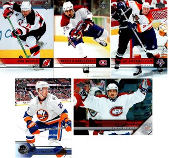 Set of 5 Cool Hockey Cards for a low Price!!!