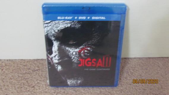 Jigsaw Blu-Ray New in Package