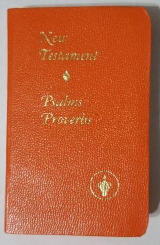 Miniature New Testament Psalms & Proverbs