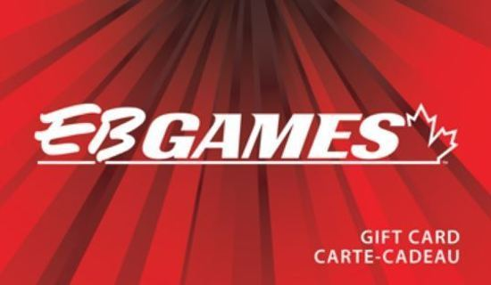 CANADA ONLY! $10.80 EB Games E Gift Card Digital Giftcard CANADA USE ONLY