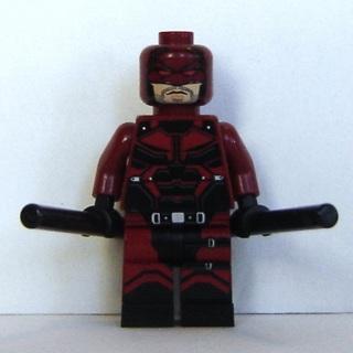 New Daredevil Marvel Super Hero Minifigure Building Toys Custom Lego