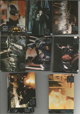 batman returns cards