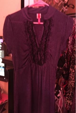 3 fancy blouses sz M&L