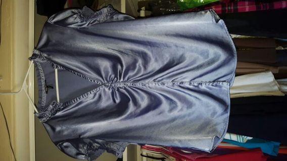Daisy Fuentes silk shirt