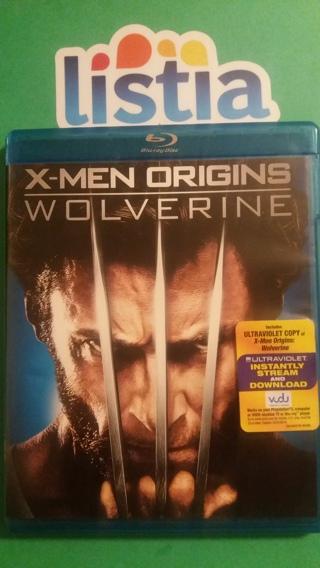 blu-ray  x-men origins  w o l v e r i n e  free shipping
