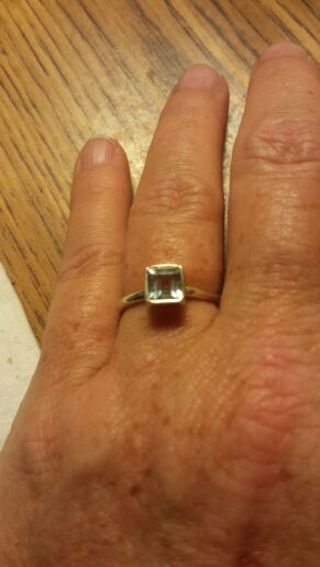 Rings lot of 3. Sterling silver stamped 925