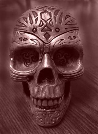 Skull Art Print 5x7