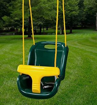 Gorilla Playsets 04-0032-G High Back Plastic Infant Swing