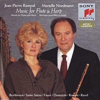 Jean-pierre rampal and marielle nordmann music for flute & harp cassette tape