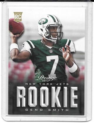 Geno Smith 2013 Prestige #234 Rookie Card