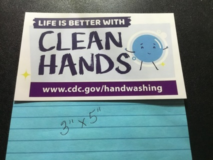 Magnet ~ LIFE IS BETTER WITH CLEAN HANDS