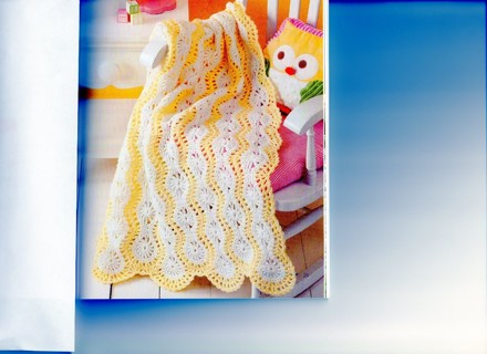 Free: LEMON DROP MILE-A-MINUTE BABY AFGHAN PATTERN - Crochet ...