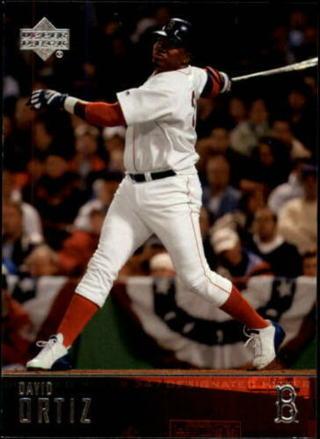 """David Ortiz - 2004 Upper Deck #302 - """"Big Papi"""" - Red Sox star - MINT CARD"""