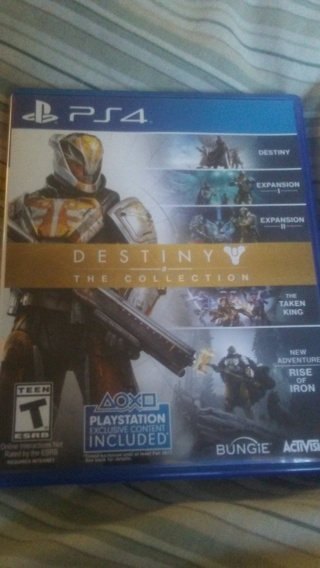 Ps4 Destiny the collection awesome like new condition