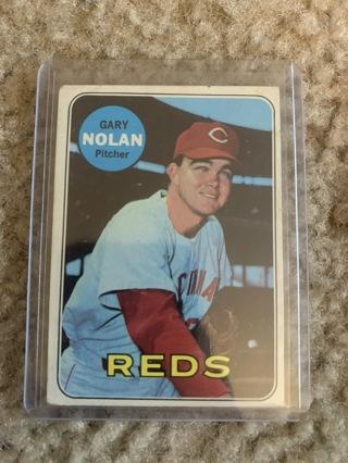 Gary Nolan 1969 Topps #581 Cincinnati Reds