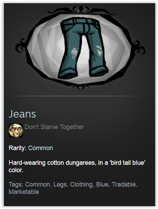 Don't Starve Together Pants Skin