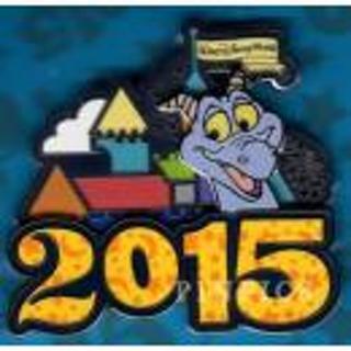 WDW 2015 Dated Logo Pin - Figment