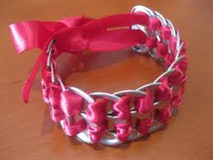 DIY how to make awesome pop tab bracelets
