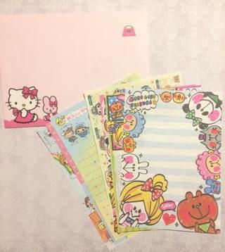 Kawaii memo ~ envelope ~ sticker flakes mix