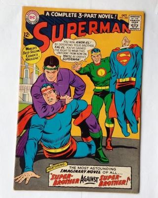 Superman DC Comics 1967 Oct. no. 200