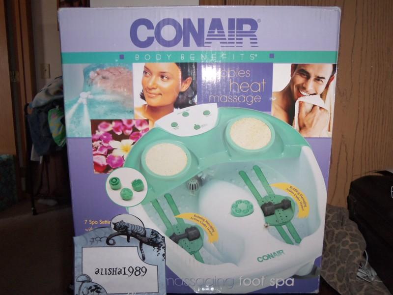 Free: Conair Whirlpool Massaging Foot Spa - Skincare, Bath & Body ...
