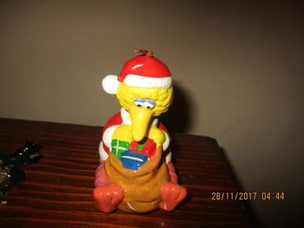 BIG BIRD CERAMIC CHRISTMAS ORNAMENT