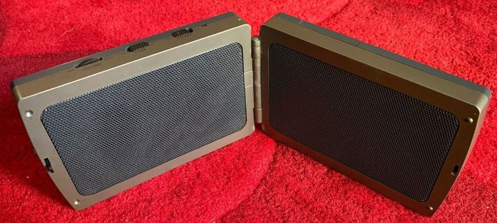 RadioShack Fold-Up Portable Amplified Speakers 14-1430