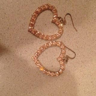 Heart earrings ❤️