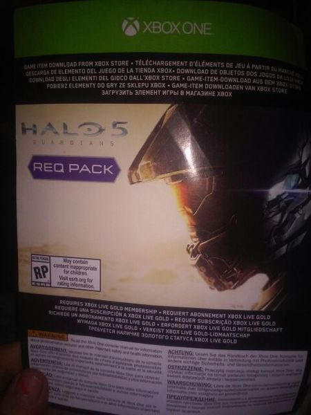 Free: HALO 5 GUARDIANS REQ PACK REDEEM CODE - Video Game ...