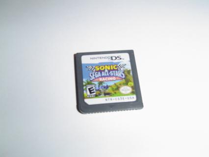 Nintendo DS Game Cartridge, Sonic Sega All Star Racing