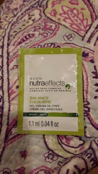 Sample of Avon nutraeffects