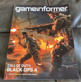 Game Informer 306 Call of Duty Black Ops 4