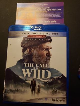 The Call of the Wild Digital Copy