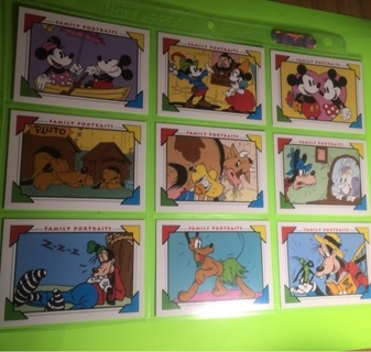 9 Disney Family Portraits Cards!