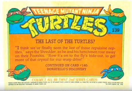NEW Teenage Mutant Ninja Turtles Trading Cards| 5-PACK