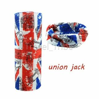 Magic Scarf Union Jack Head Wear Kerchief Bandana Mask Outdoor Sport Cycling