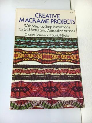Creative Macrame Projects Book