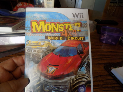 Wii Monster 4 x 4 World Circuit Game