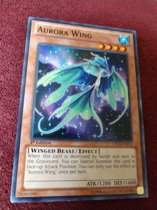 Yu-Gi-Oh Card - Aurora Wing