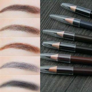 Unisex Women Men Makeup Eyebrow Liner Pencil Enhancer Waterproof Eye Brow Pen
