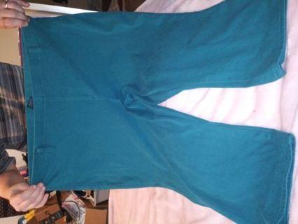 Women green capri by Faded glory size 3x 22w/24w