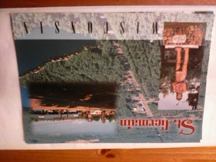 St. Germaine postcard