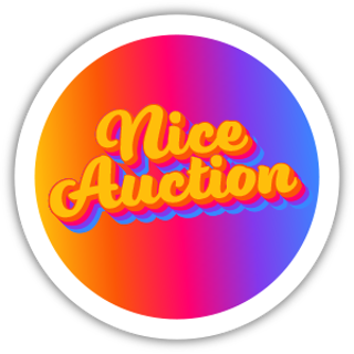Collectible NFT Badge: Nice Auction #1 of 50