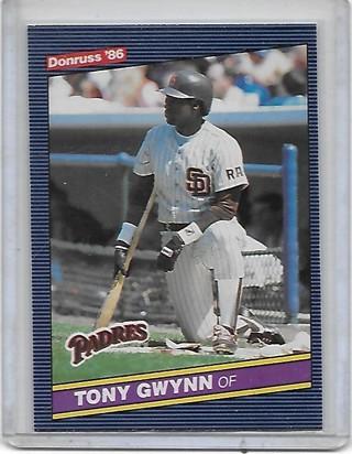 Tony Gwynn 1986 Donruss #112