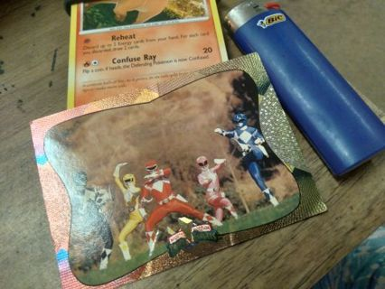 SPECIAL POWER RANGERS CARD